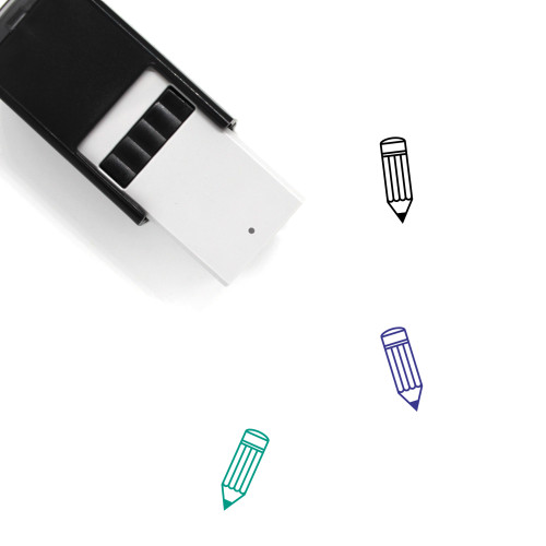 Pencil Self-Inking Rubber Stamp No. 190