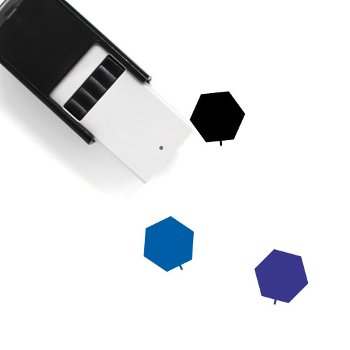 Hex Tree Self-Inking Rubber Stamp No. 1