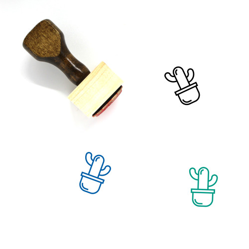 Decoration Wooden Rubber Stamp No. 326