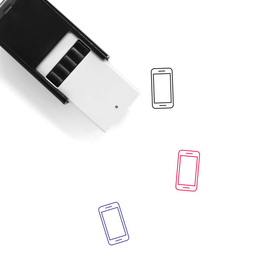 Cellphone Self-Inking Rubber Stamp No. 82