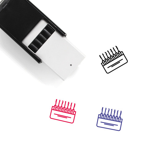 Master Key Self-Inking Rubber Stamp No. 5