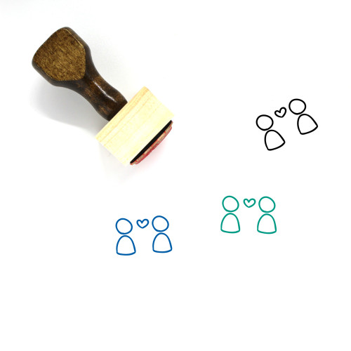 Love Wooden Rubber Stamp No. 699