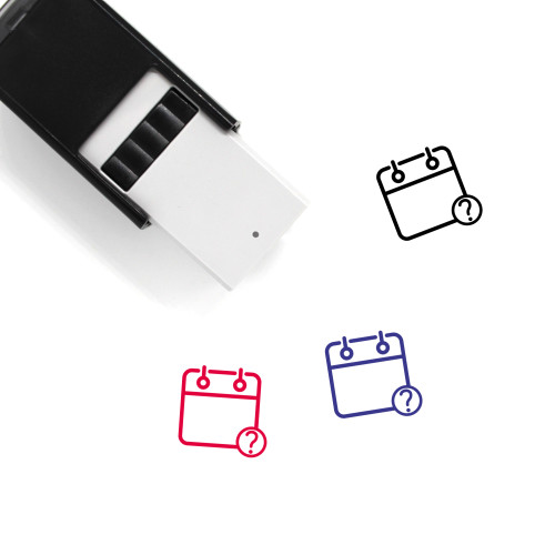 Unknown Event Self-Inking Rubber Stamp No. 2
