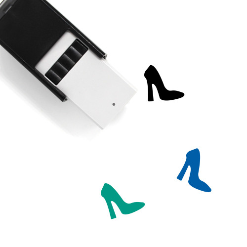 Footwear Self-Inking Rubber Stamp No. 41