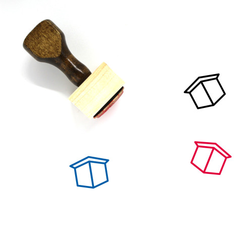 Booth Wooden Rubber Stamp No. 10