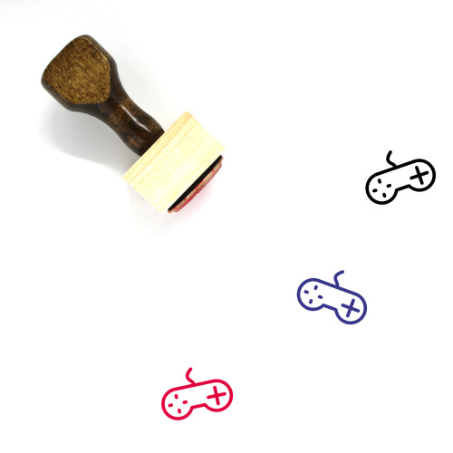 Game Wooden Rubber Stamp No. 322