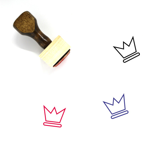 King Wooden Rubber Stamp No. 428