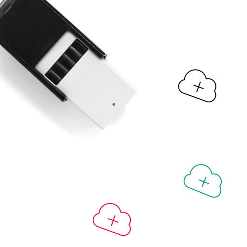 Add To Cloud Self-Inking Rubber Stamp No. 21