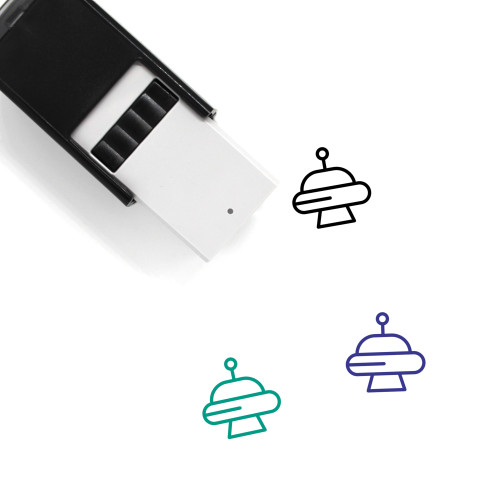 Abduction Self-Inking Rubber Stamp No. 5