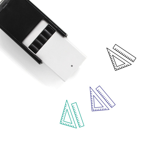 Rulers Self-Inking Rubber Stamp No. 37