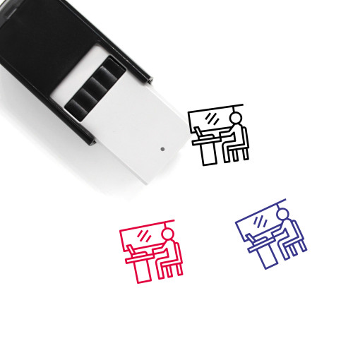 Employee Self-Inking Rubber Stamp No. 152