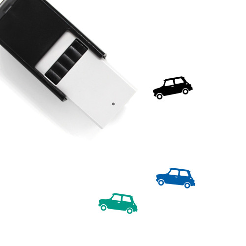 Mini Cooper Self-Inking Rubber Stamp No. 6