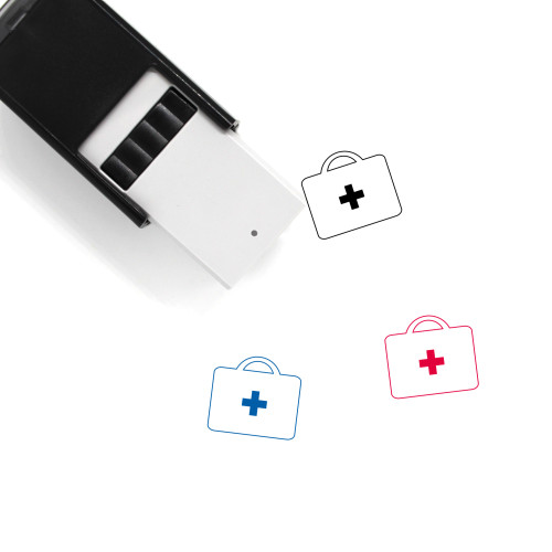 First Aid Self-Inking Rubber Stamp No. 50