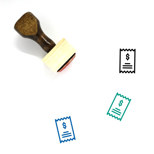 Statement Wooden Rubber Stamp No. 31