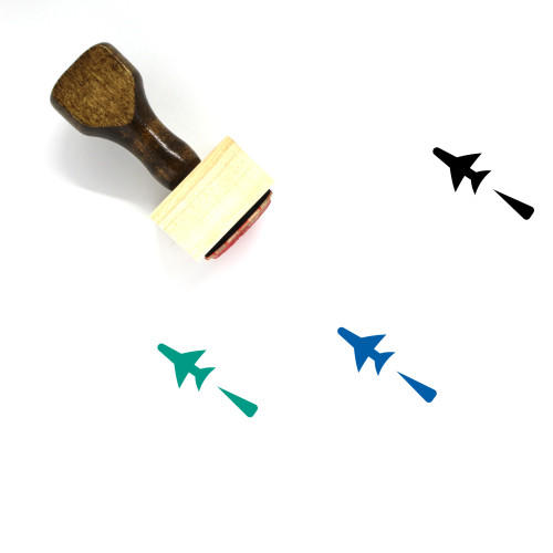 Aircraft Wooden Rubber Stamp No. 175
