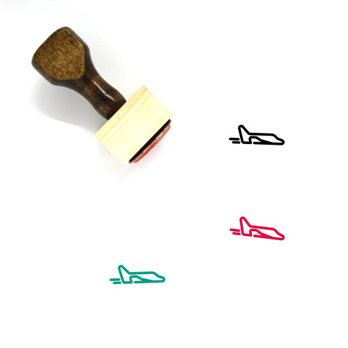 Space Shuttle Wooden Rubber Stamp No. 27
