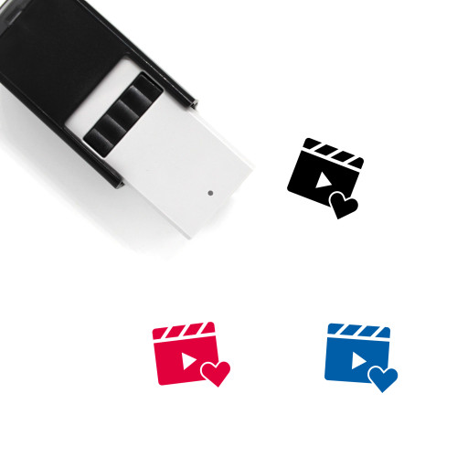 Video Like Self-Inking Rubber Stamp No. 1