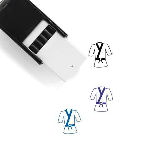 Martial Arts Self-Inking Rubber Stamp No. 6
