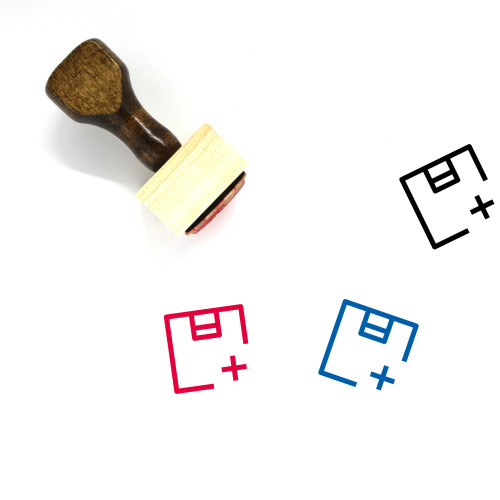 Product Wooden Rubber Stamp No. 43