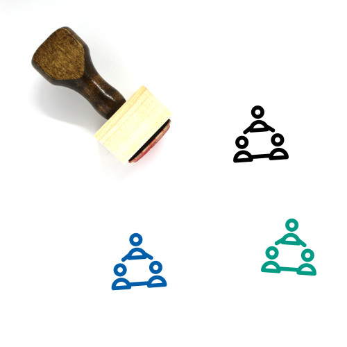 Work Group Wooden Rubber Stamp No. 26