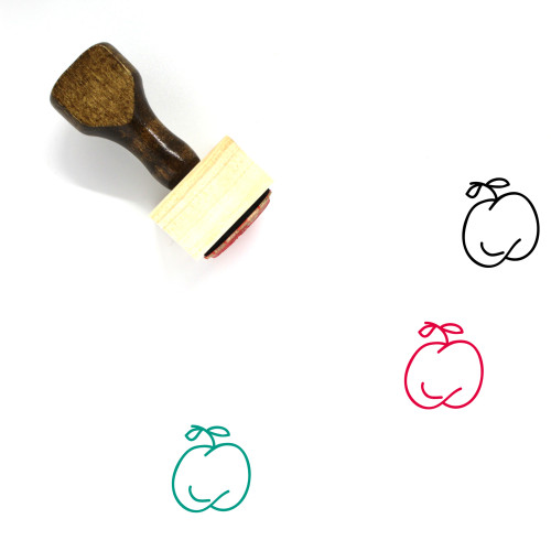 Diet Wooden Rubber Stamp No. 37