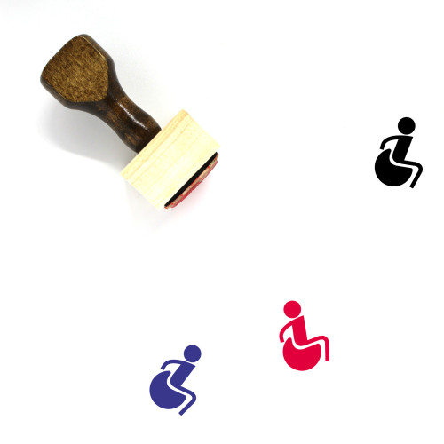 Accessibility Wooden Rubber Stamp No. 36