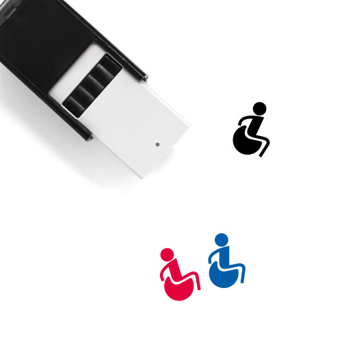 Accessibility Self-Inking Rubber Stamp No. 36