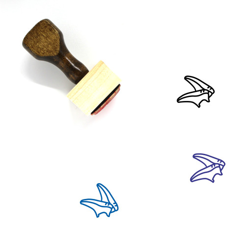 Casual Shoes Wooden Rubber Stamp No. 12