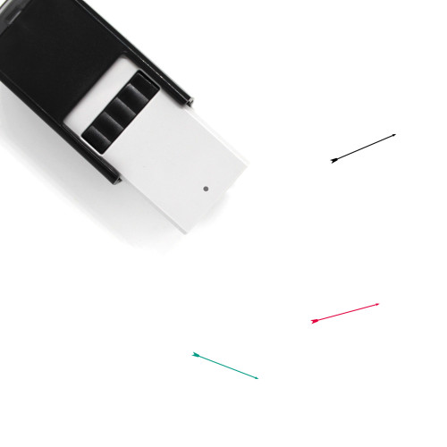 Arrow Self-Inking Rubber Stamp No. 1172