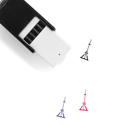 Oriental Pearl Tower Self-Inking Rubber Stamp No. 9
