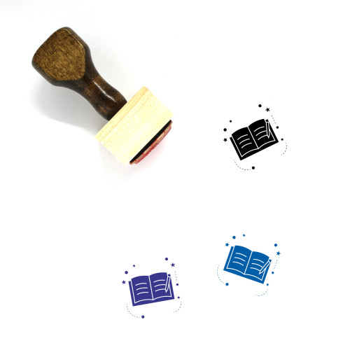 Learn Wooden Rubber Stamp No. 45