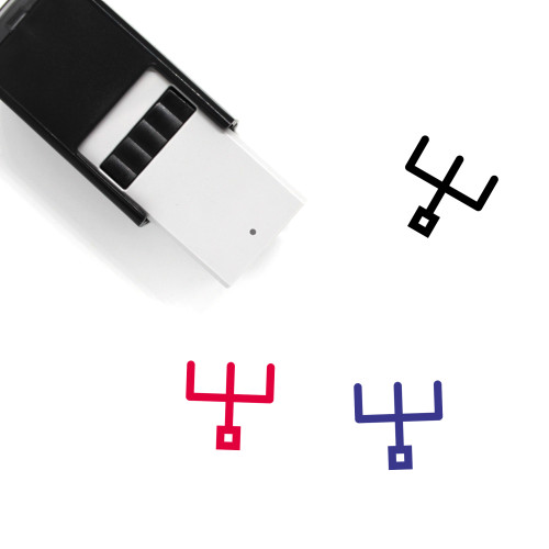Diagram Self-Inking Rubber Stamp No. 207