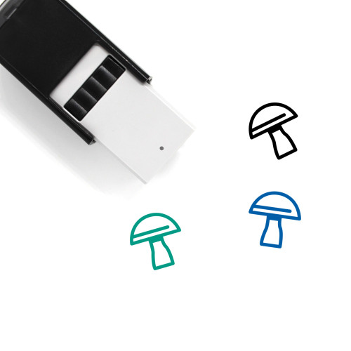 Mushroom Self-Inking Rubber Stamp No. 37