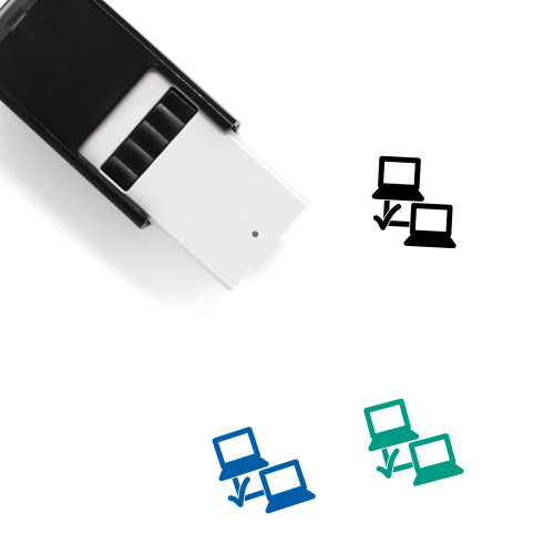 Network Sharing Self-Inking Rubber Stamp No. 44