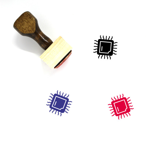 Hardware Wooden Rubber Stamp No. 4