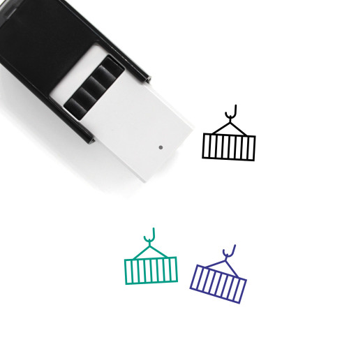 Container Self-Inking Rubber Stamp No. 47