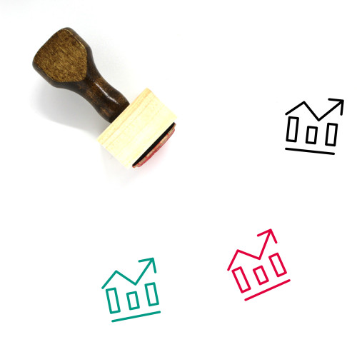 Graph Wooden Rubber Stamp No. 178