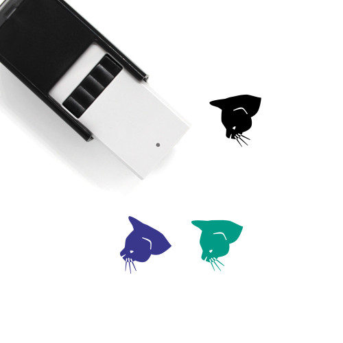 Cat Self-Inking Rubber Stamp No. 185