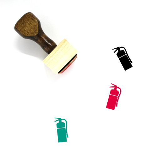 Fire Extinguisher Wooden Rubber Stamp No. 46