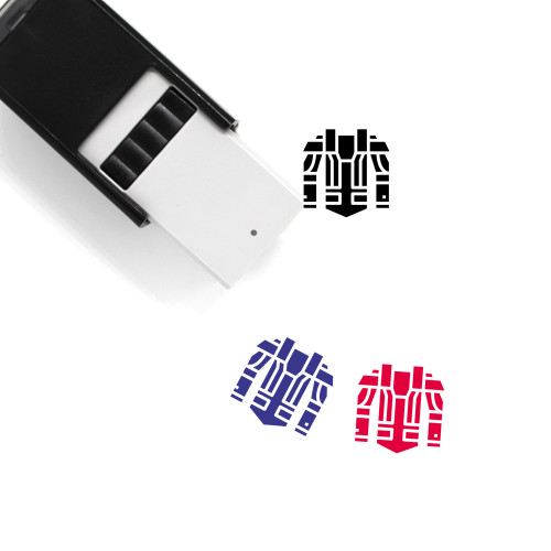 Armour Self-Inking Rubber Stamp No. 5