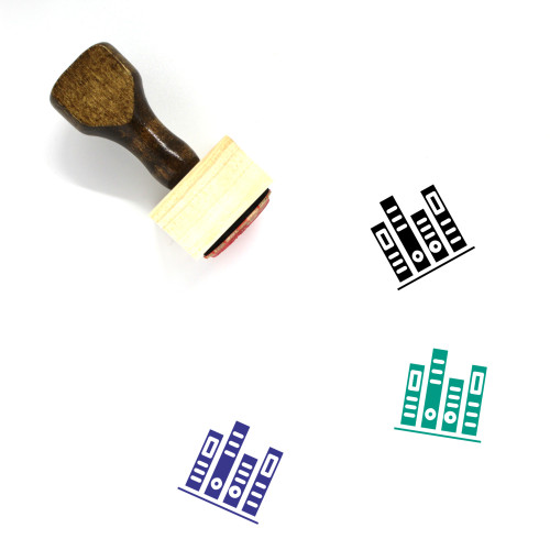 Bookstore Wooden Rubber Stamp No. 10