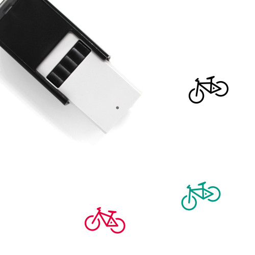 Bicycle Self-Inking Rubber Stamp No. 199