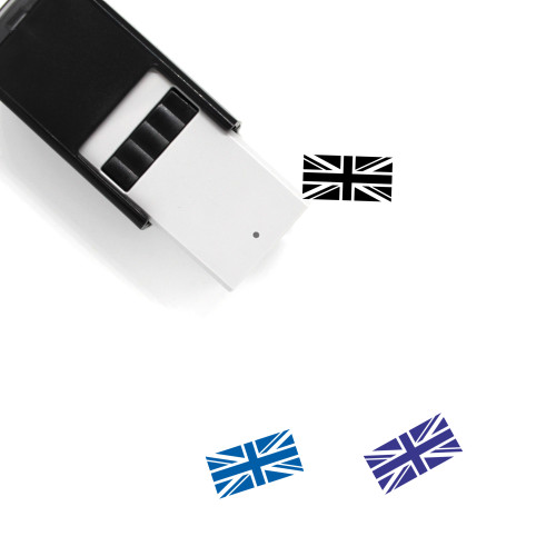 Flag Of The United Kingdom Self-Inking Rubber Stamp No. 1