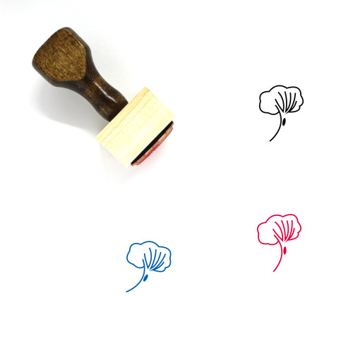 Tree Wooden Rubber Stamp No. 382