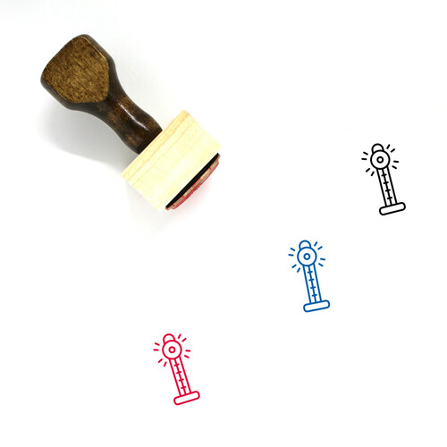 Carnival Game Wooden Rubber Stamp No. 1