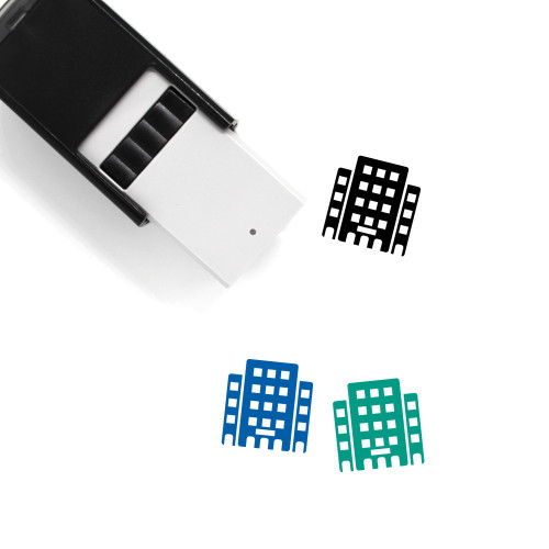 Hotels Self-Inking Rubber Stamp No. 14
