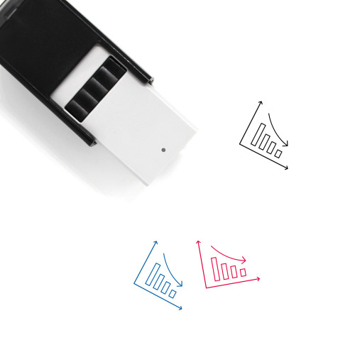 Decreasing Graph Self-Inking Rubber Stamp No. 11