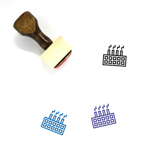 Factory Wooden Rubber Stamp No. 139