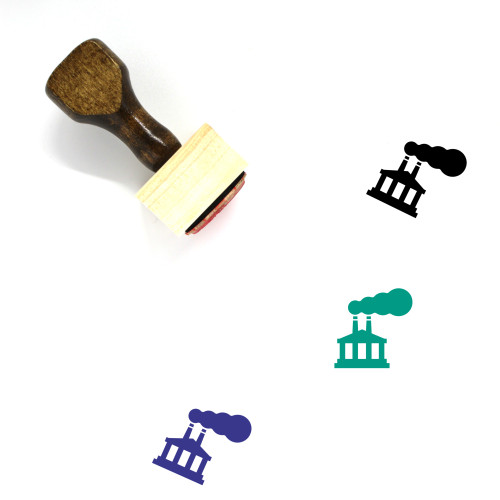 Corporation Wooden Rubber Stamp No. 3