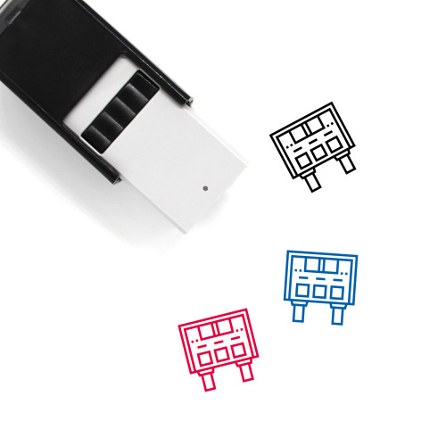 Score Self-Inking Rubber Stamp No. 12